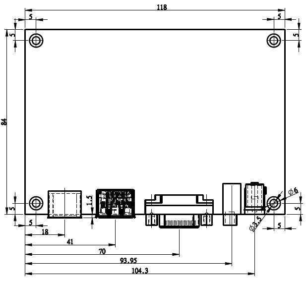 EAGO GTR83 AD Board-2