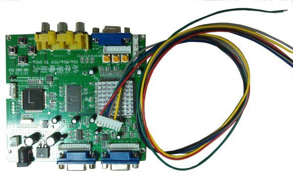 53211 CGA to VGA Board-1