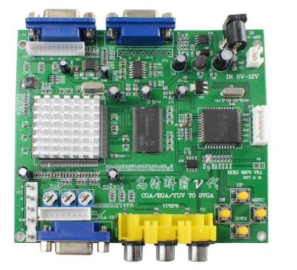 53211 CGA to VGA Board