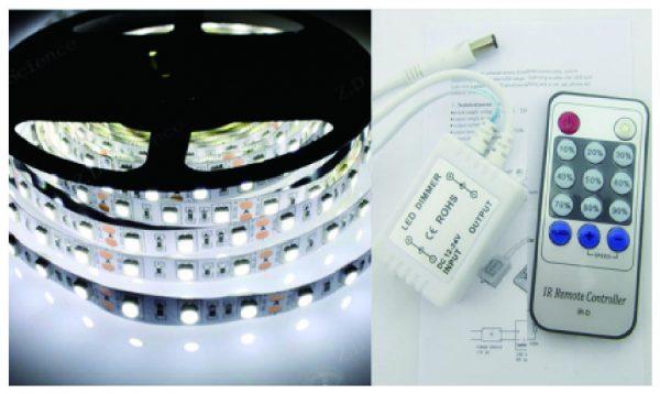 53250-9 LED Strip 5M White